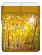 Aspen Morning Duvet Cover by Darren  White