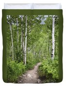Aspen Path Duvet Cover