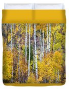 Aspen Tree Magic Duvet Cover