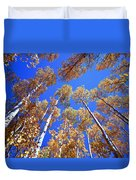 Aspen Tree Tops Duvet Cover