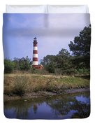 Assateague Lighthouse - Fm000081 Duvet Cover