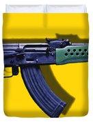 Assault Rifle Pop Art - 20130120 - V2 Duvet Cover