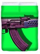 Assault Rifle Pop Art - 20130120 - V3 Duvet Cover
