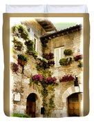 Assisi Courtyard Duvet Cover