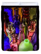 Assorted Colored Bottles Duvet Cover