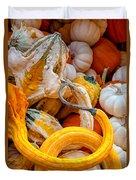 Assorted Gourds Duvet Cover