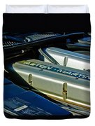 Aston Martin Db7 Engine Duvet Cover