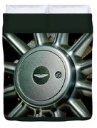 Aston Martin Db7 Wheel Emblem Duvet Cover