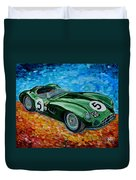 Aston Martin Dbr1 Duvet Cover