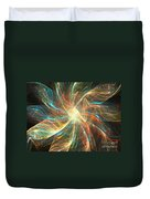 Astral Flower Duvet Cover