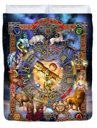 Astrology Duvet Cover by Ciro Marchetti