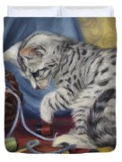 At Play Duvet Cover