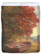 At Rest Duvet Cover by Lucie Bilodeau