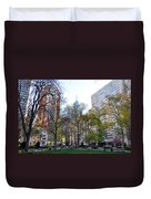 At Rittenhouse Square Duvet Cover