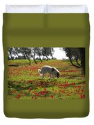 At Ruchama Forest Israel 1 Duvet Cover