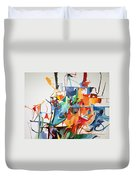 at the age of three years Avraham Avinu recognized his Creator 2 Duvet Cover