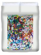 at the age of three years Avraham Avinu recognized his Creator Duvet Cover