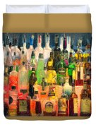 At The Bar 2 Duvet Cover