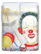 At The Circus Duvet Cover