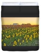 At The Crack Of Dawn Duvet Cover
