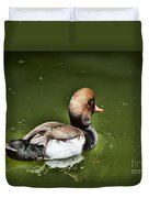 At The Duck Pond Duvet Cover