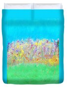 At The Edge Of The Field Duvet Cover