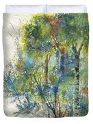 At The Edge Of The Woods Duvet Cover