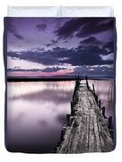 At The End Duvet Cover by Jorge Maia