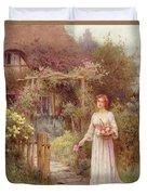 At The Garden Gate Duvet Cover