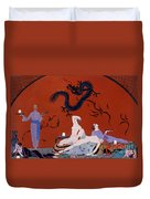 At The House Of Pasotz Duvet Cover