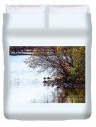 At The Lake-40 Duvet Cover