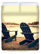 At The Lake Duvet Cover