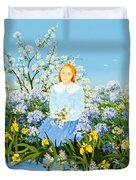 At The Shore Of Dreams Duvet Cover