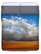 Clouds Over The Atacama Desert Chile Duvet Cover