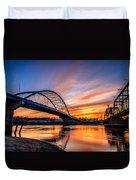 Atchison Sunset Duvet Cover