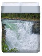 Athabasca Falls Study V Close-up Duvet Cover