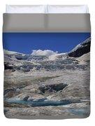 Athabasca Glacier 1 Duvet Cover