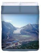 1m3735-athabasca Glacier Duvet Cover