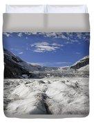 Athabasca Glacier Duvet Cover