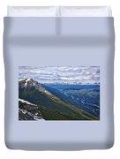Athabasca River Valley - Jasper Duvet Cover