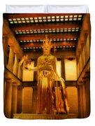 Athena Parthenos Duvet Cover