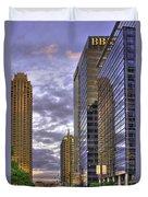 Atlanta 17th Street Atlantic Station Duvet Cover