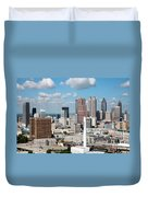 Atlanta Skyline Duvet Cover
