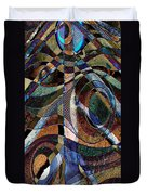 Atlanta Solis Abstract Art Duvet Cover