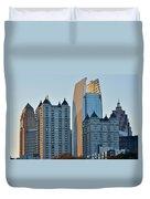 Atlanta Towers Duvet Cover