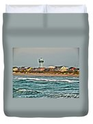 Atlantic Beach Duvet Cover