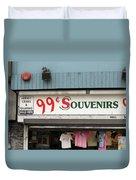 Atlantic City New Jersey - Souvenir Store Duvet Cover