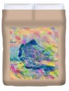 Atlantic Codfish Digital Color Duvet Cover