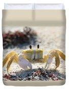 Atlantic Ghost Crab 2760 Duvet Cover