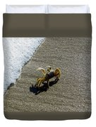 Atlantic Ghost Crab Duvet Cover